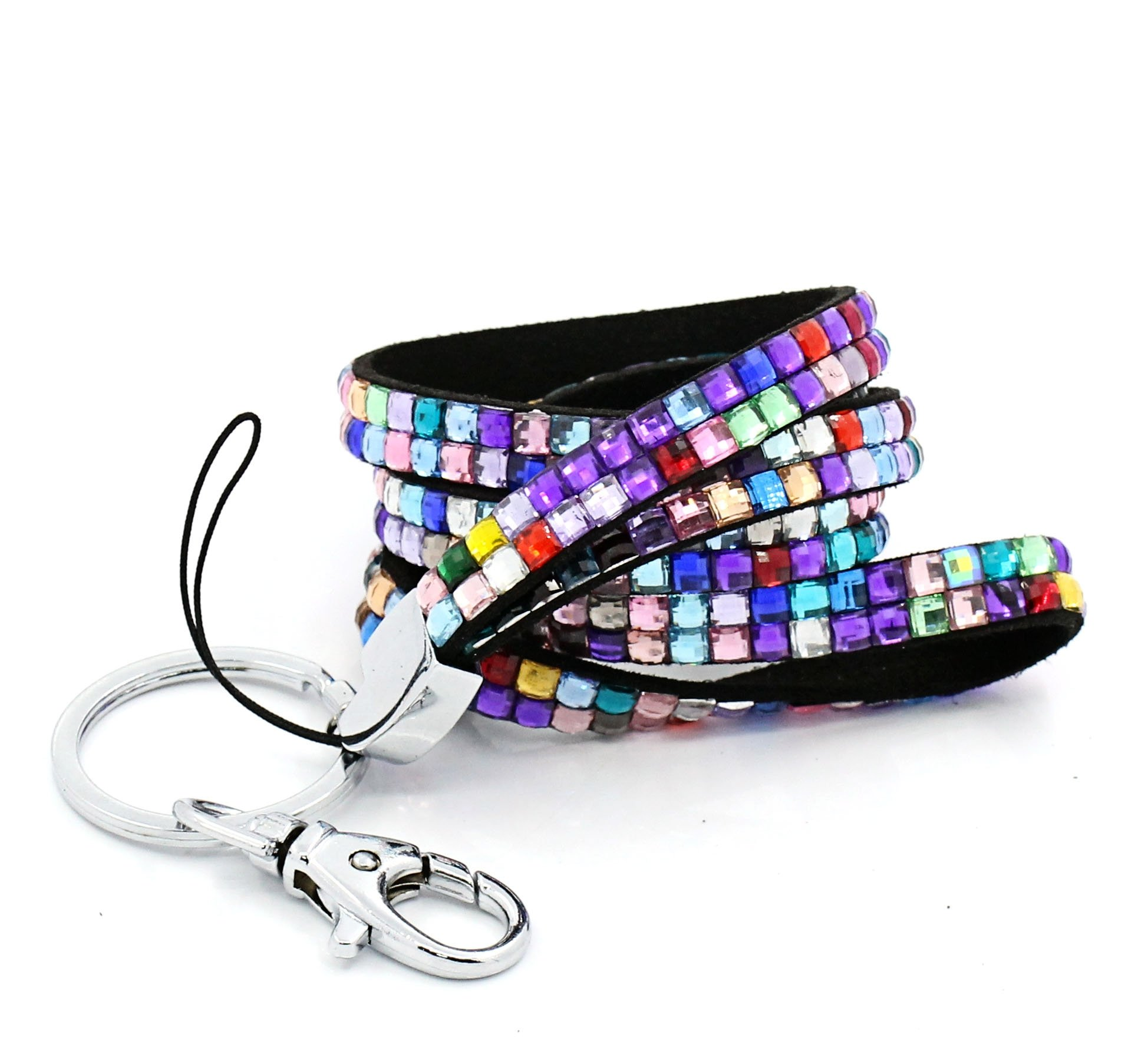 Rhinestone Sparkly Lanyards - Stand Out In The Office