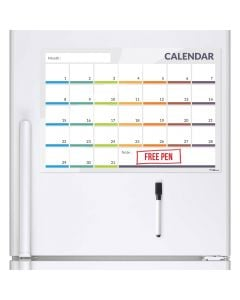 monthly planner for a fridge
