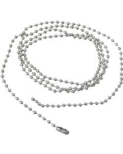 Pack of 50 ID Neck Ball Chain Necklace