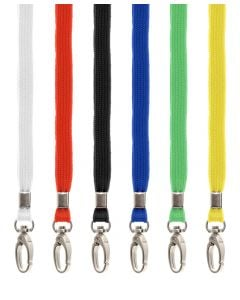 Colour selection of lanyards with breakaway