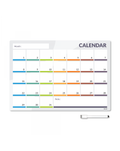 Magnetic Calendar for a fridge