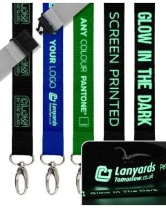 Glow In The Dark Personalised Lanyards