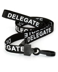 Delegate ID Lanyards