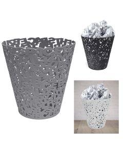 Letters Waste Paper Basket