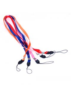 50 Mixed Colour ID Lanyards