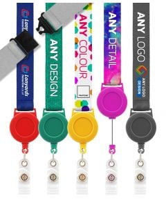 Personalised Retractable Lanyards