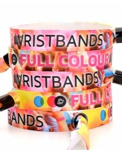 Personalised Satin Wristbands