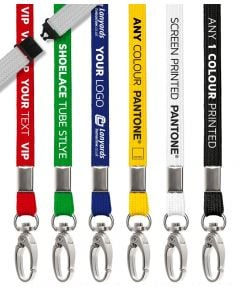 Personalised Lanyards Tubular Custom