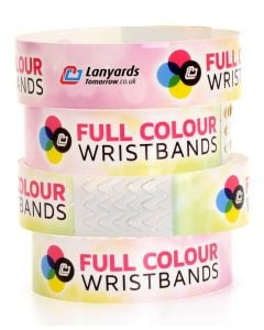 Full-Colour Personalised Tyvek Wristbands